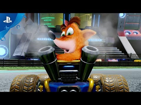 Crash Team Racing Nitro-Fueled - Reveal Trailer | PS4