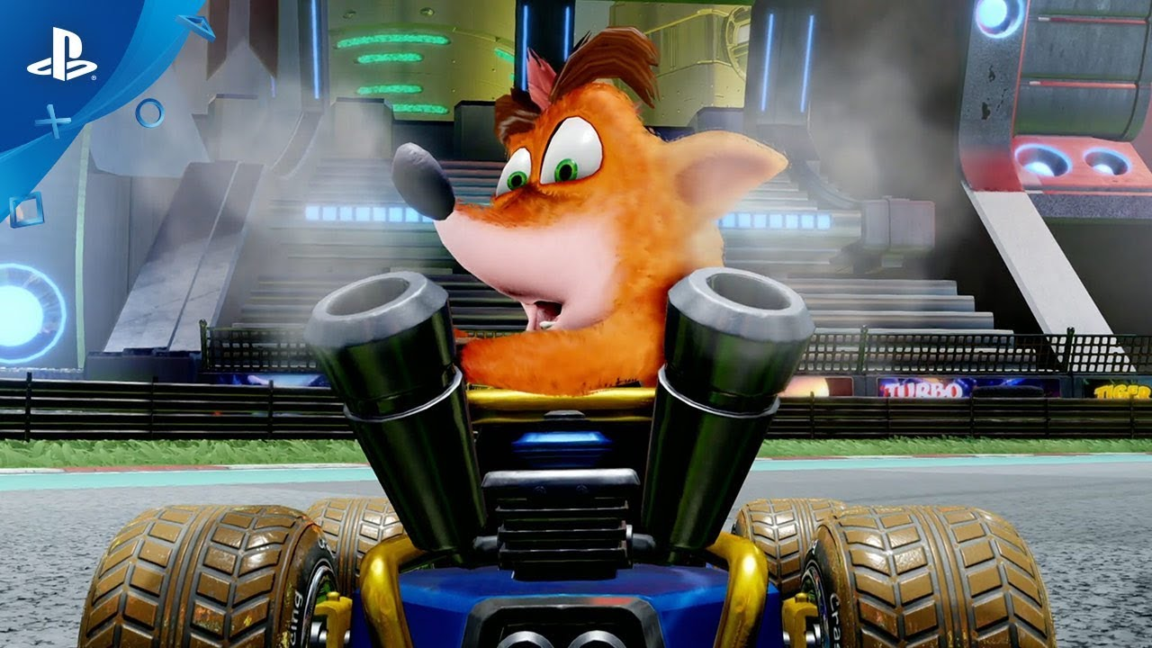 Crash Team Racing Nitro-Fueled – премьерный ролик | PS4
