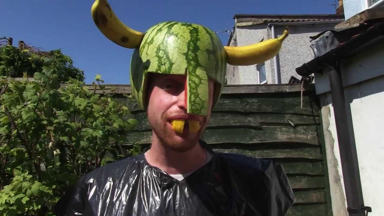 d2b1ce03ca9 How to make a Watermelon Helmet - YouTube
