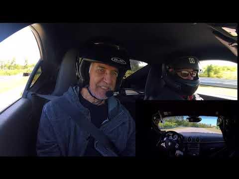 Premier tours de piste pour Claude à Calabogie Motorsport Park
