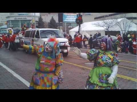 Flint Michigan D.D.A. Holiday Parade. Dec 1st 2012