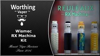 Reuleaux ~RX Machina Kit by Jaybo and Wismec