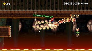 Spiny Super Highway (Speed Run): Beating Super Mario Maker's Super Expert Levels!