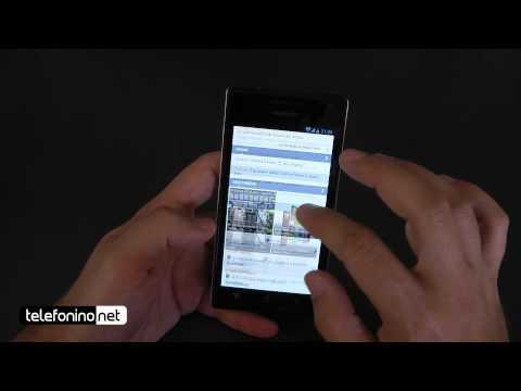 Huawei Ascend P1 videoreview da Telefonino.net