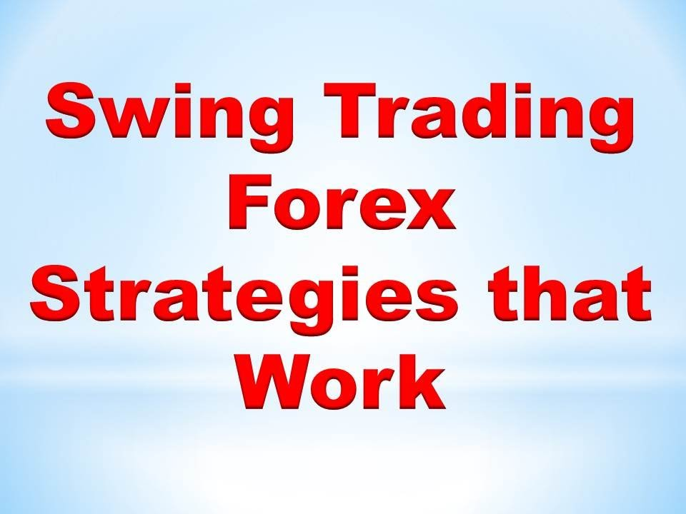 Forex strategies that work