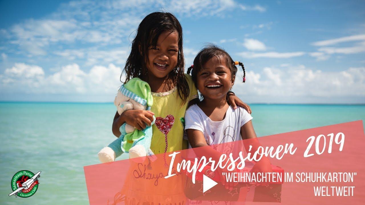 """Impressionen 2019 - """"Weihnachten im Schuhkarton"""" weltweit"""