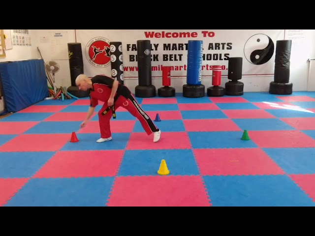 Learn Martial Arts | Mr Tandoh with a game for the ninjas or junior's.This game will tax the brain.