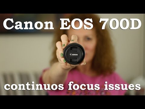 Canon EOS 700D (Rebel T5i) Focus Issues | Sharing Spot