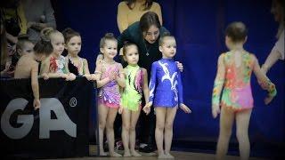 Художественная гимнастика дети 4 года. Весенняя Ласточка(Выступление малышей 2011 г.р. из клуба