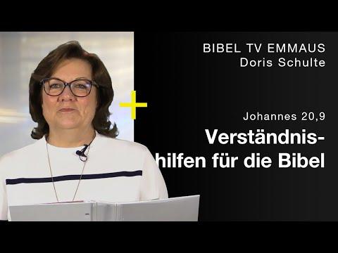 Die Bibel Verstehen | Andacht Von Doris Schulte | Bibel TV Emmaus
