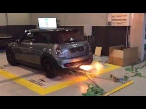 R56 Mini Cooper S Turbo Catless Downpipe Install Youtube