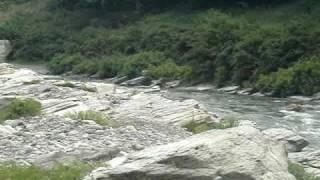 長瀞 小滝の瀬です.