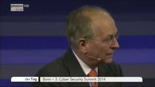 Cyber Security Summit: Wolfgang Ischinger & Timotheus Höttges zu Cyber-Kriminalität am 03.11.2014