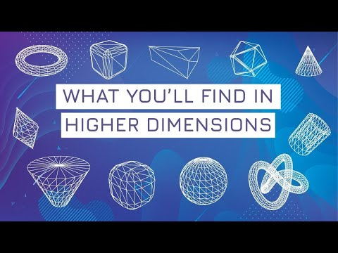 The things you'll find in higher dimensions