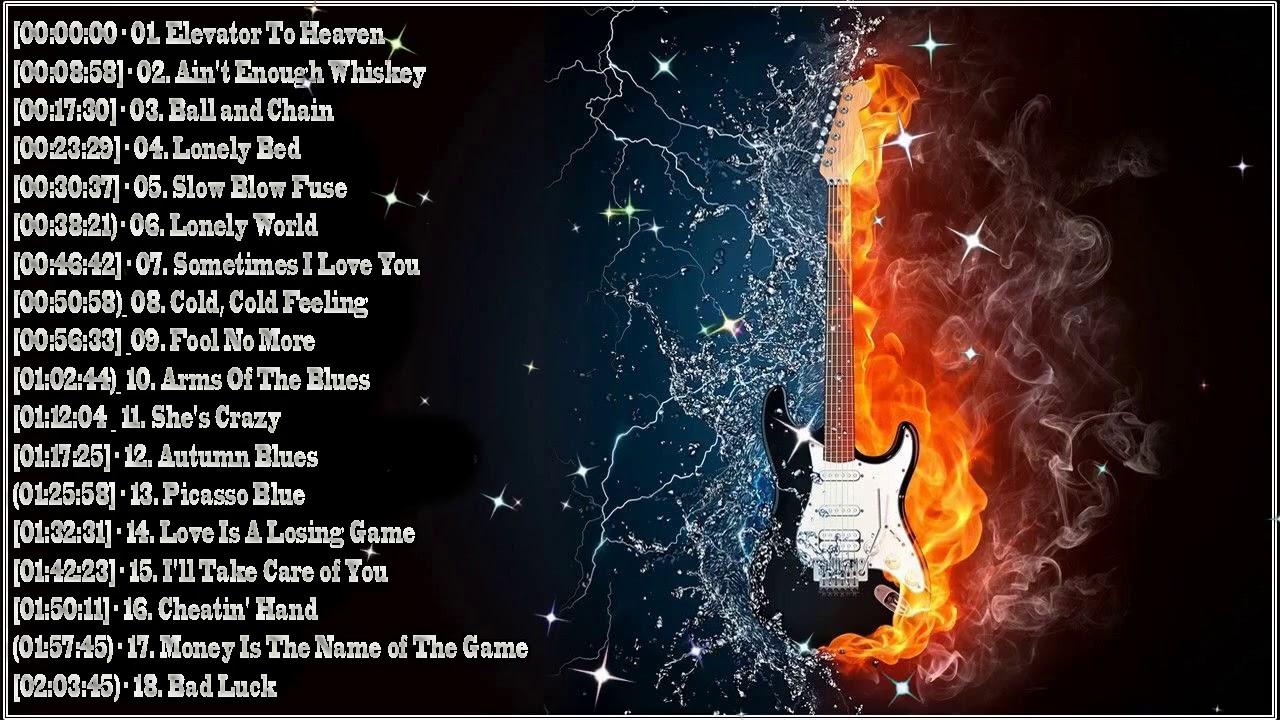 Download The Best Slow Blues  Blues Rock Music 2021