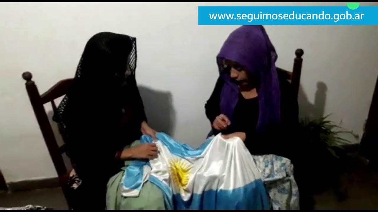 Belgrano en nuestro pueblo, un corto familiar
