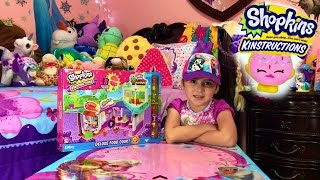 Shopkins Kin'structions | Deluxe Food Court | BUILD WITH ME! | PLAY WITH ME!