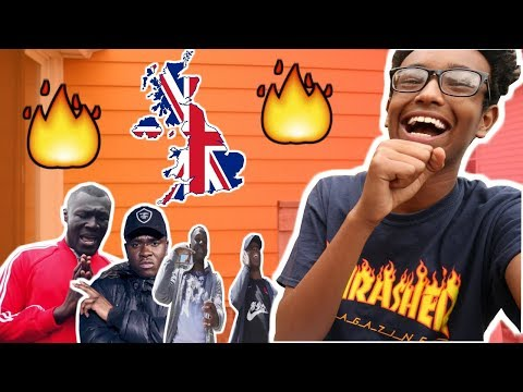 REACTING TO UK RAP/HIP HOP FOR THE FIRST TIME!!