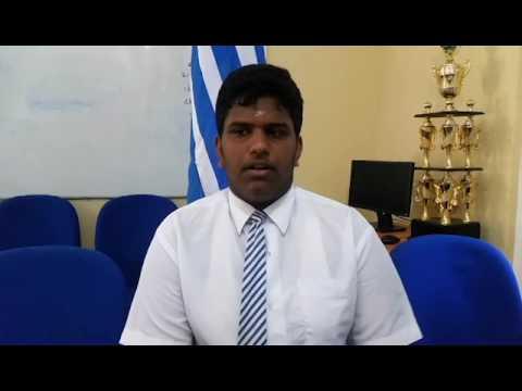 Arulananthan Abinanthan Tamil Medium Top Rank in 2016 OL