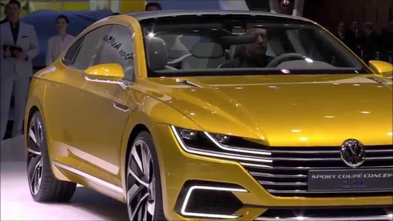 volkswagen sport coupe concept gte - geneva motor show 2015 - youtube
