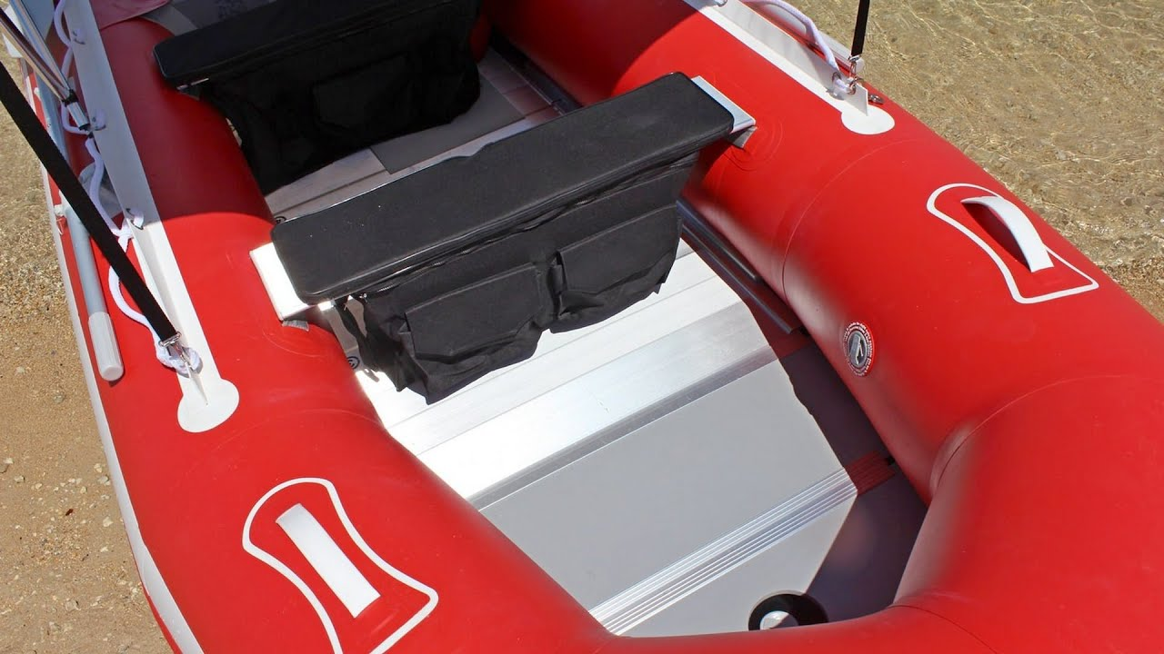 Inflatable Boat Seat Cushions With Storage Bags Youtube