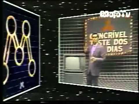 Clube da Criança c Xuxa e a Primeira Paquita Andréa Veiga 1984 Tv Manchete
