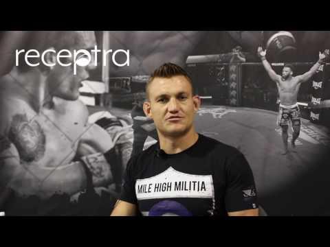 Professional MMA Fighter Ian Heinisch Explains How Receptra Naturals Hemp Helps Speed His Recovery