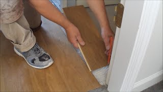 Hardwood Floor Installation: How To Connect The Last Raw With Multiple Rooms