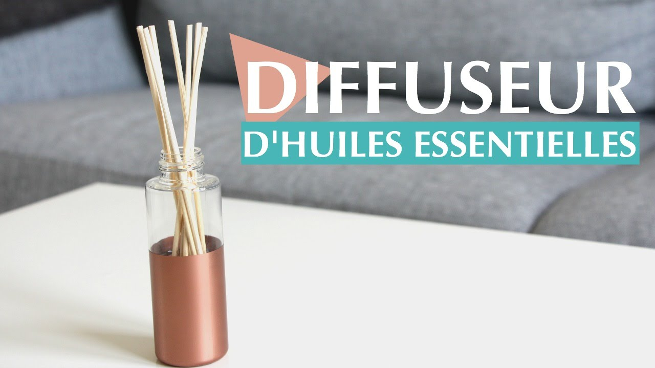 diy diffuseur d 39 huiles essentielles youtube. Black Bedroom Furniture Sets. Home Design Ideas