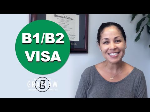 Tourist Visa To USA - Apply For Visitor Visa US - US Visa - B1/B2 Visa Step By Step - GrayLaw TV