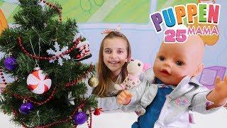 Puppen Mama 25 - Ayca und Lolly schmücken den Weihnachtsbaum