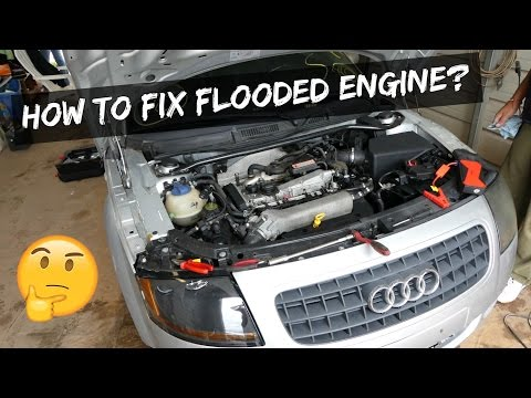 HOW TO FIX FLOODED ENGINE | FLOODED SPARK PLUGS