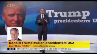 Americké volby 2016: Josef Skála na ČT