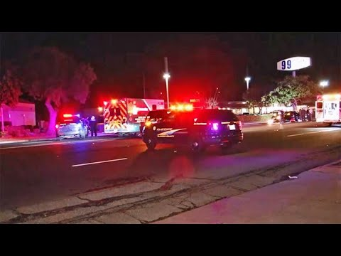 Raw Video: Hayward Homicide Investigation