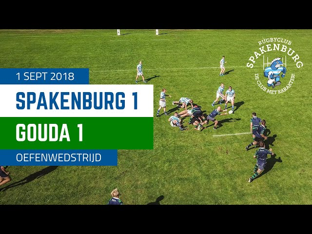 RC Spakenburg 1 - Gouda 1 | Oefenwedstrijd 4K