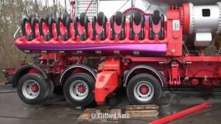 Kermis Aalsmeer 2017 Transport en opbouw Deel 1