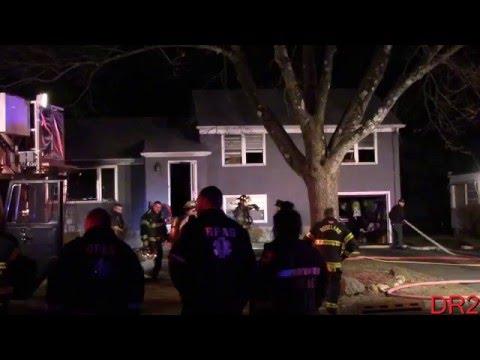 Roseland Nj Fire Department Working Fire Oak Dr 1-7-15