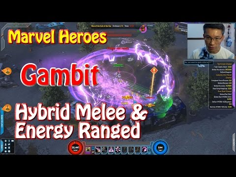 Marvel Heroes Gambit Hybrid Melee & Energy Ranged Guide (Endgame)