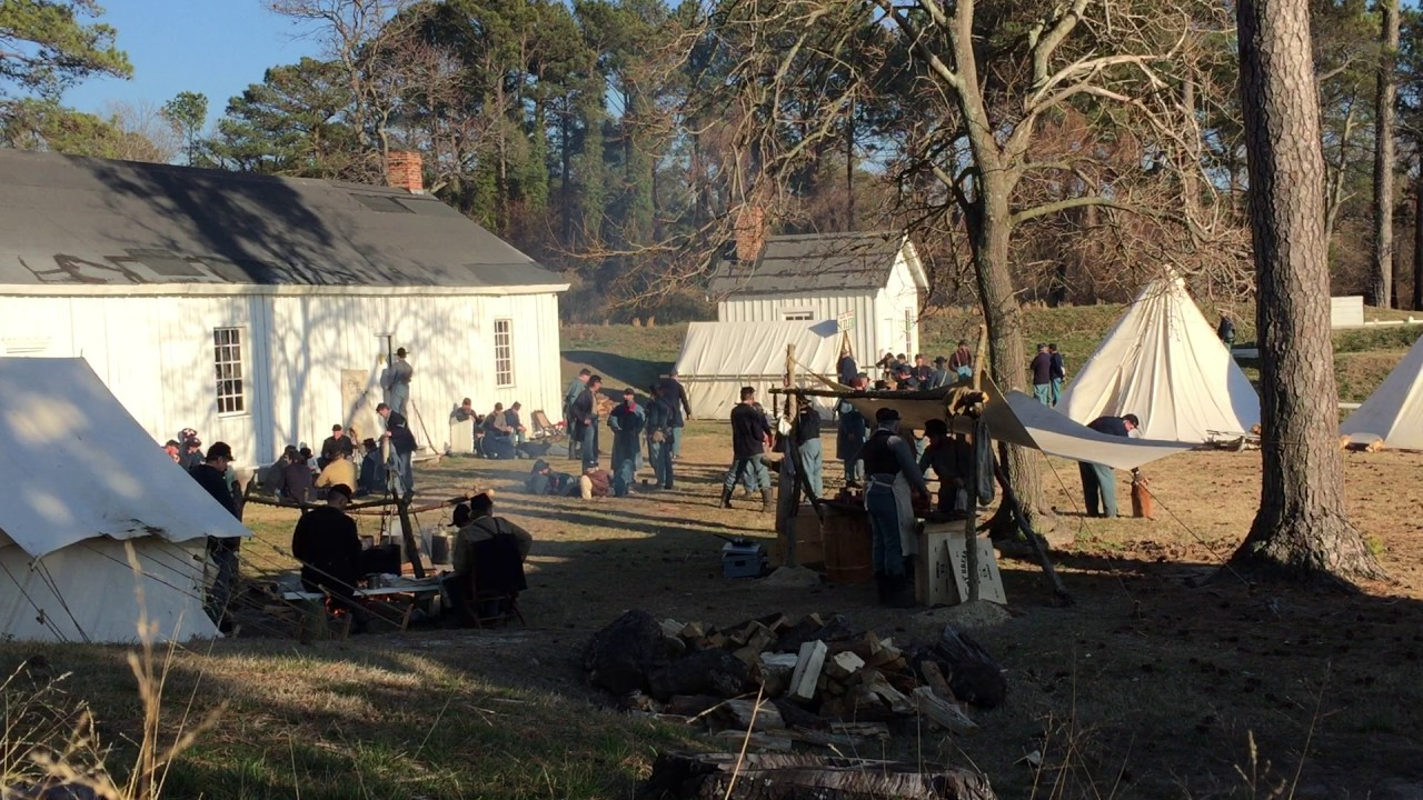 The Liberty Rifles and Guests Garrisoned at Point Lookout