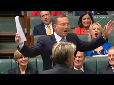 "PM Tony Abbott calls OL Bill Shorten the ""Dr Goebbels of economic policy"""