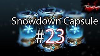 Otwieramy 23 Snowdown Capsules - wypadają prezenty :D Mythic skin!