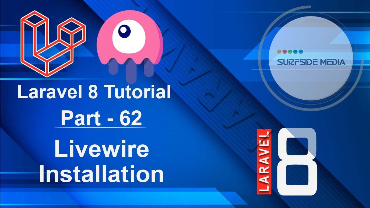 Laravel 8 Tutorial Livewire Components Youtube