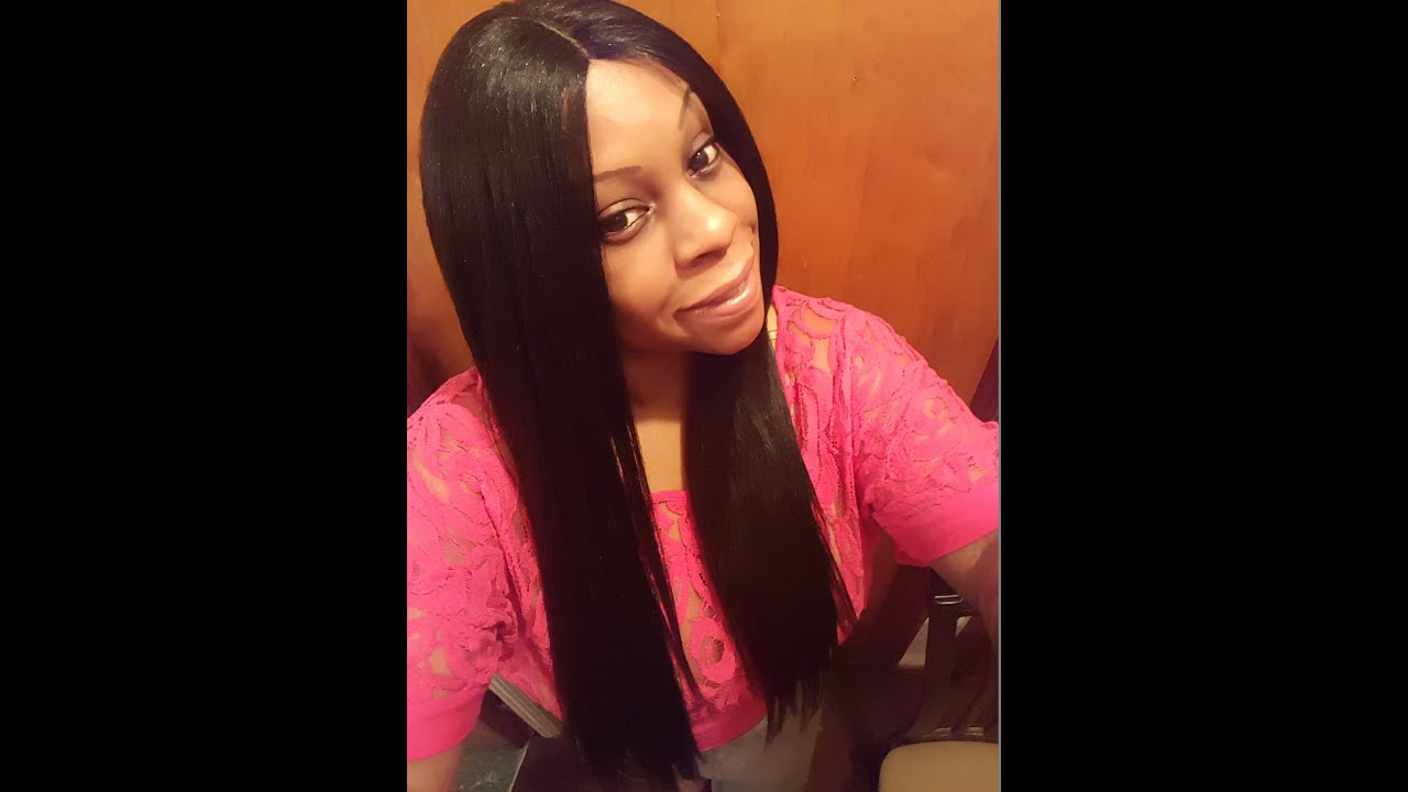Straight perm solution - Remi Touch Brazilian Kinky Perm Straight