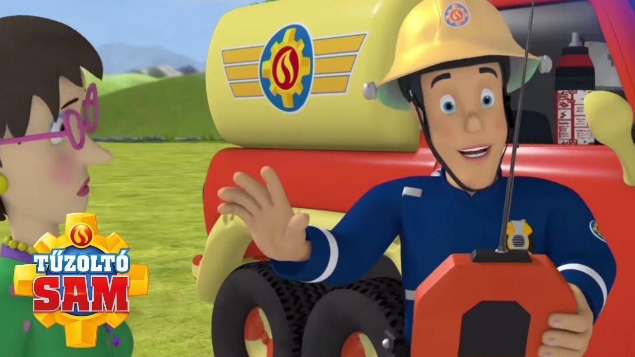 Elvis új játék! | tűzoltó sam tisztviselő | Rajzfilmek gyerekeknek
