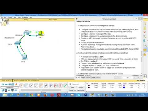 CCNA2 Chapter 2 Practice Skills Assessment PT Type C