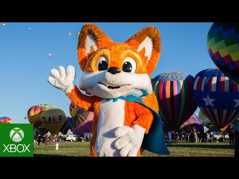 Download Youtube: Super Lucky's Tale Hot Air Balloon World Record Highlights