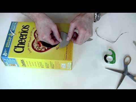 Cheerios Box Guitar Youtube
