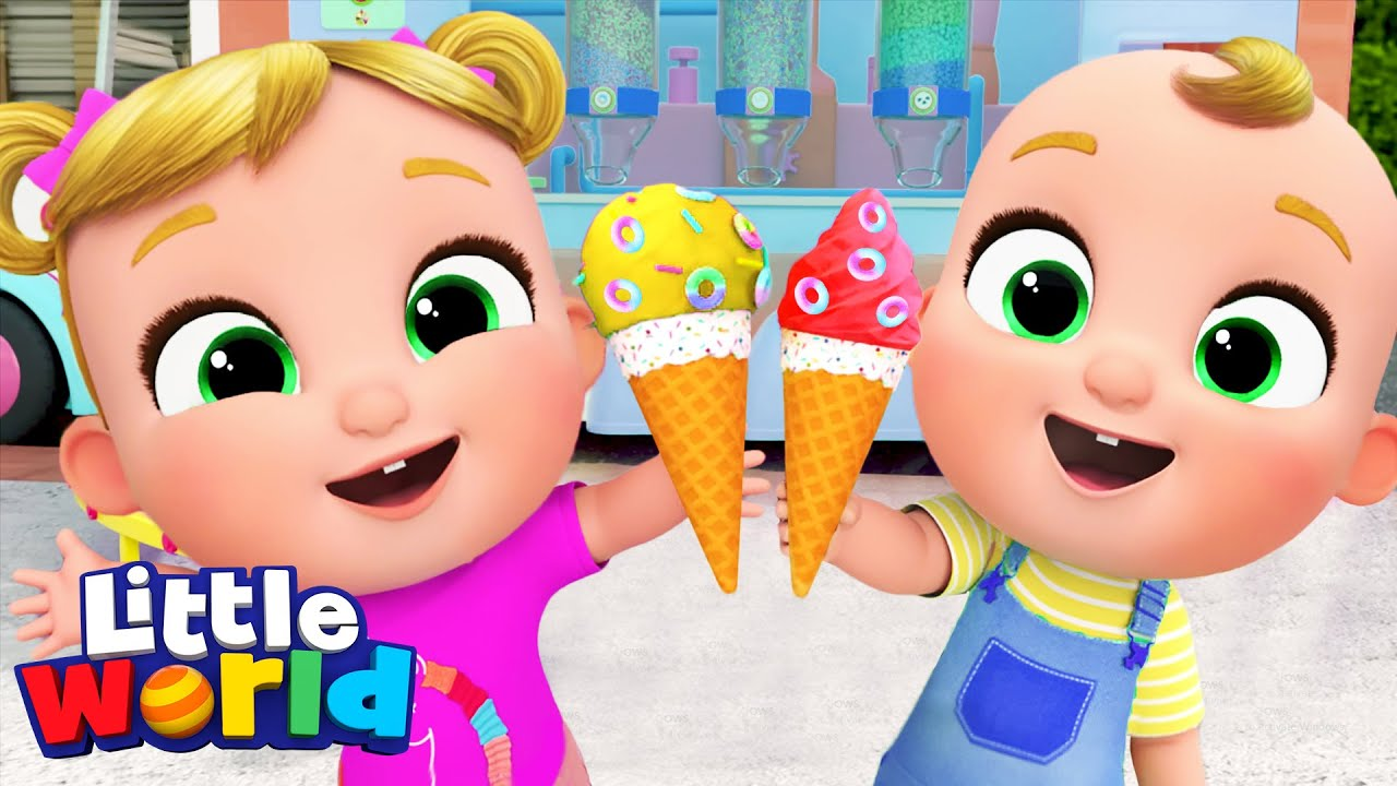 Ice Cream Song | Kids Songs & Nursery Rhymes by Little World
