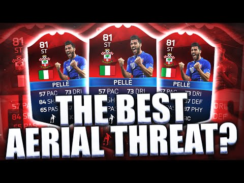 THE BEST AERIAL THREAT IN FIFA?? iMOTM PELLE!!! FIFA 16 ULTIMATE TEAM