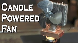 Repeat youtube video Candle Powered Fan!